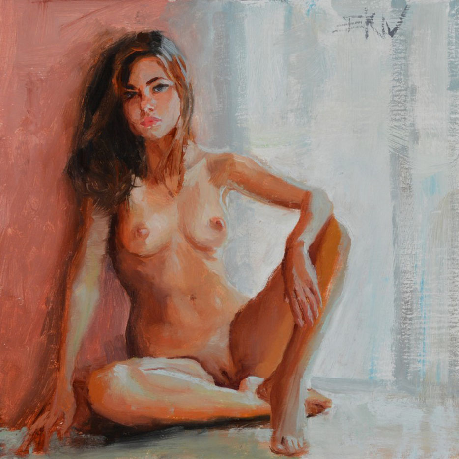 "Эрик Уоллис (Eric Wallis) ""Seated"""