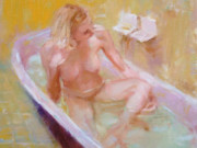 "Эрик Уоллис (Eric Wallis) ""Enjoying a Bath"""