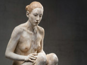 "Бруно Уолпот (Bruno Walpoth) ""Sitting woman - 2"""