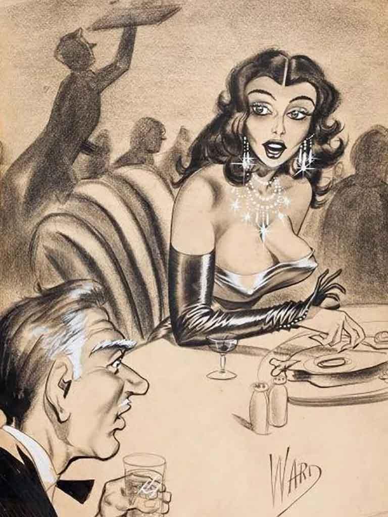"""Билл Уорд (Bill Ward) """"Surprises at Dinner"""""""