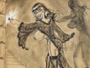 "Билл Уорд (Bill Ward) ""A Russ Meyer 'Bustoon' illustration"""