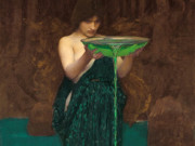 "Джон Уильям Уотерхаус (John William Waterhouse), ""Цирцея"""