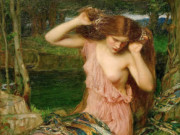 "Джон Уильям Уотерхаус (John William Waterhouse), ""Ламия (2)"""