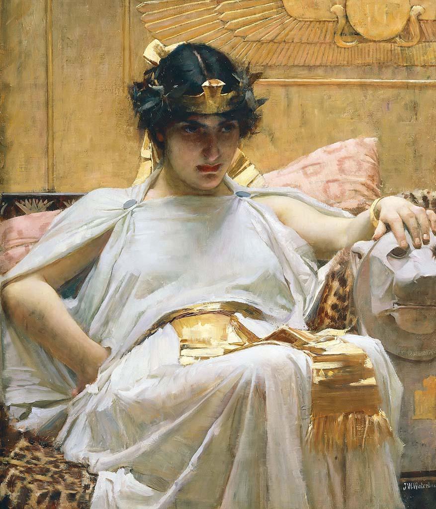 "Джон Уильям Уотерхаус (John William Waterhouse), ""Клеопатра"""