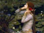 "Джон Уильям Уотерхаус (John William Waterhouse), ""Офелия"""