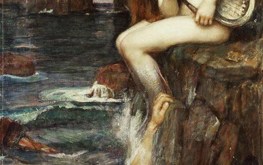 "Джон Уильям Уотерхаус (John William Waterhouse), ""Сирена"""