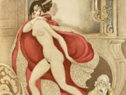 """Герда Вегенер (Gerda Wegener), """"Sur Talons Rouges"""""""