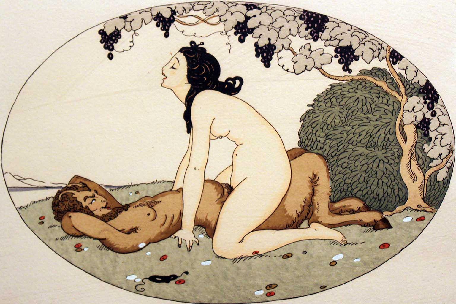 """Герда Вегенер (Gerda Wegener), """"Les Delassements d'Eros - 02"""""""