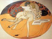 """Герда Вегенер (Gerda Wegener), """"Les Delassements d'Eros - 03"""""""
