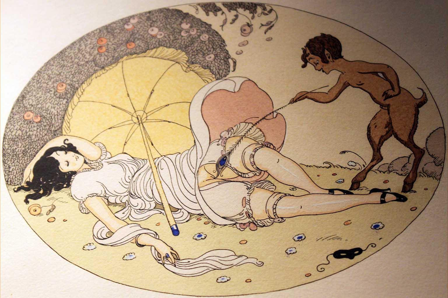 """Герда Вегенер (Gerda Wegener), """"Les Delassements d'Eros - 05"""""""