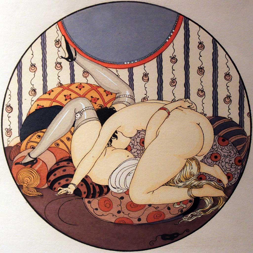 """Герда Вегенер (Gerda Wegener), """"Les Delassements d'Eros - 06"""""""