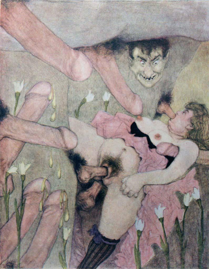 """Герда Вегенер (Gerda Wegener), """"Les Delassements d'Eros - 07"""""""