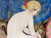 """Герда Вегенер (Gerda Wegener), """"La belle aux bas et escarpins rouge"""""""