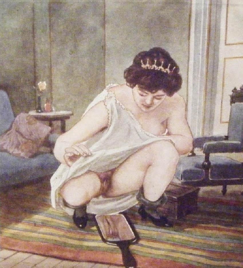 """Герда Вегенер (Gerda Wegener), """"Narcissisme"""""""