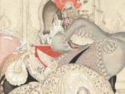 "Герда Вегенер (Gerda Wegener), ""A plate from Allatini's Sur Talons Rouges"""