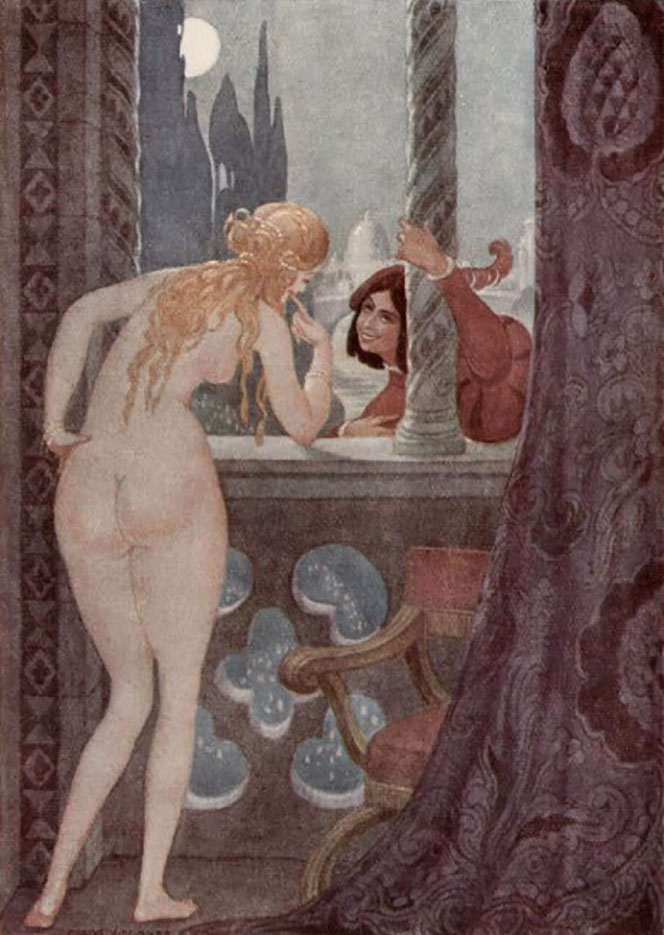 "Герда Вегенер (Gerda Wegener), ""Untitled - 34"""