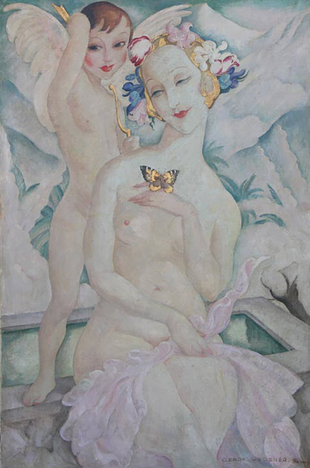 "Герда Вегенер (Gerda Wegener), ""Untitled - 39"""