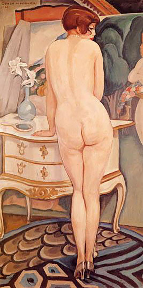 "Герда Вегенер (Gerda Wegener), ""Untitled - 40"""