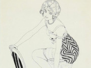 "Герда Вегенер (Gerda Wegener), ""Untitled - 44"""