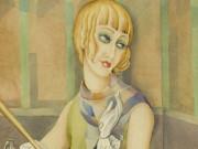 """Герда Вегенер (Gerda Wegener), """"Портрет Лили Эльбе"""""""