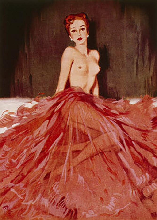 "Дэвид Райт (David Wright), ""December 1952"""