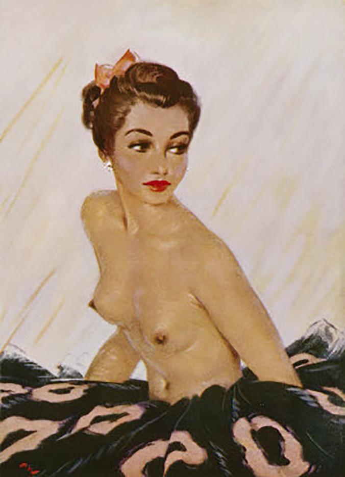 "Дэвид Райт (David Wright), ""August 1951"""