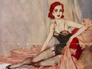 "Дэвид Райт (David Wright), ""Untitled Pin up — 49"""