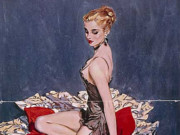 "Дэвид Райт (David Wright), ""Untitled Pin up — 52"""