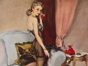 "Дэвид Райт (David Wright), ""Untitled Pin up — 63"""