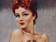 "Дэвид Райт (David Wright), ""Untitled Pin up — 67"""