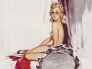 "Дэвид Райт (David Wright), ""Untitled Pin up — 70"""