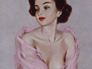 "Дэвид Райт (David Wright), ""Untitled Pin up — 73"""