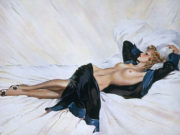 "Дэвид Райт (David Wright), ""Untitled Pin up — 81"""