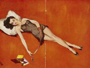 "Дэвид Райт (David Wright), ""Untitled Pin up — 83"""