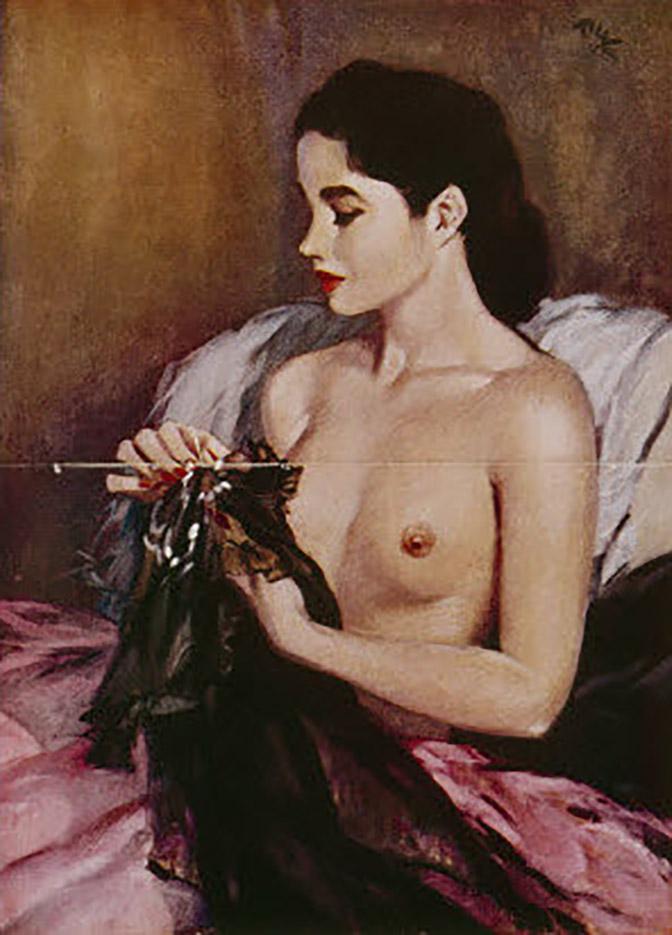 "Дэвид Райт (David Wright), ""Februar 1952"""