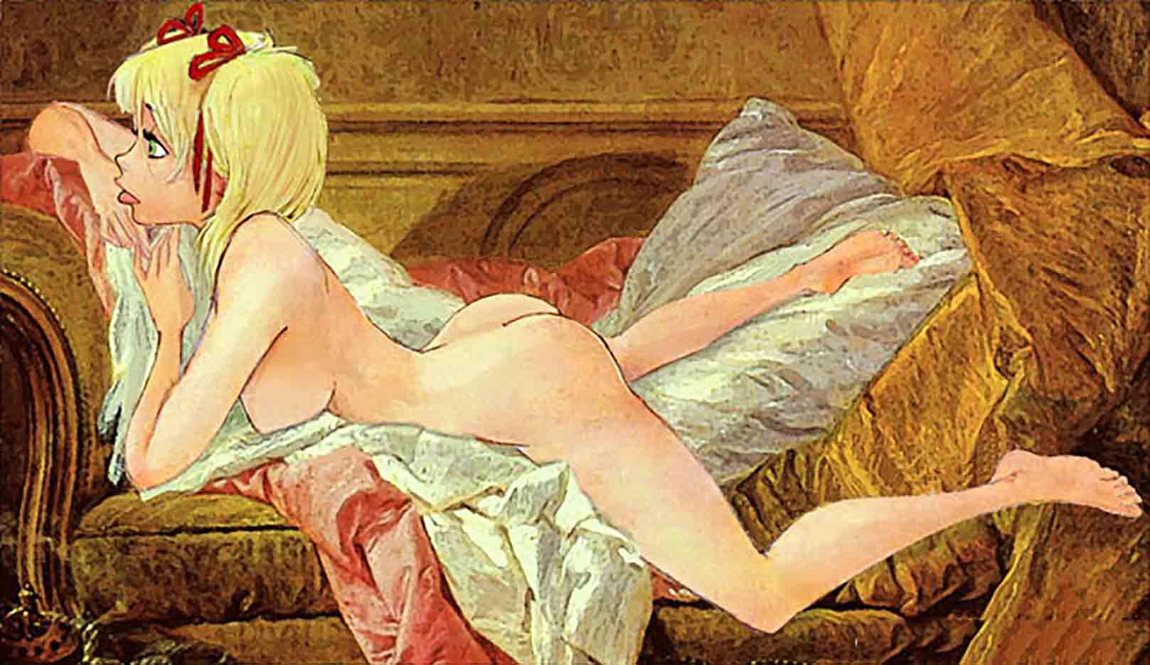 Cartoon Erotic