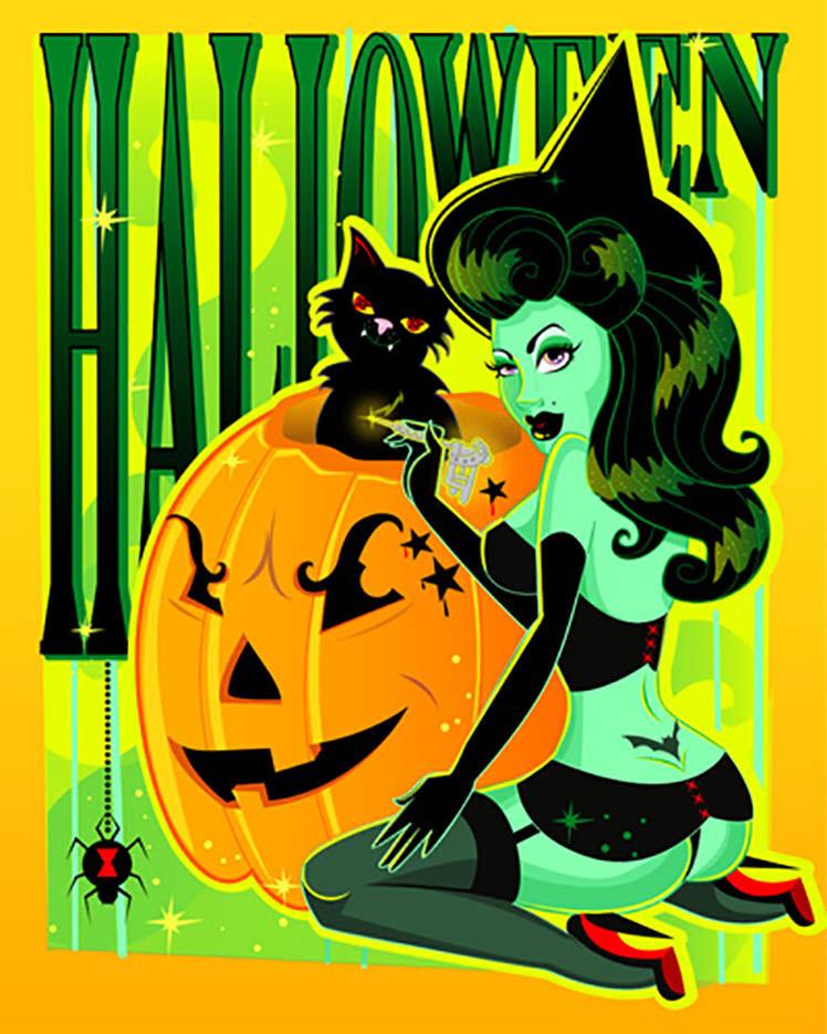 "Андреа Янг (Andrea Young), ""Halloween"""