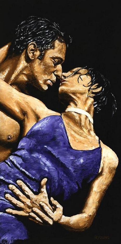 """Ричард Янг (Richard Young), """"Tango Heat"""""""