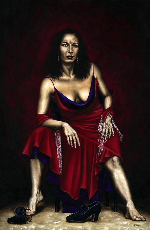 "Ричард Янг (Richard Young), ""Portrait Of A Dancer"""