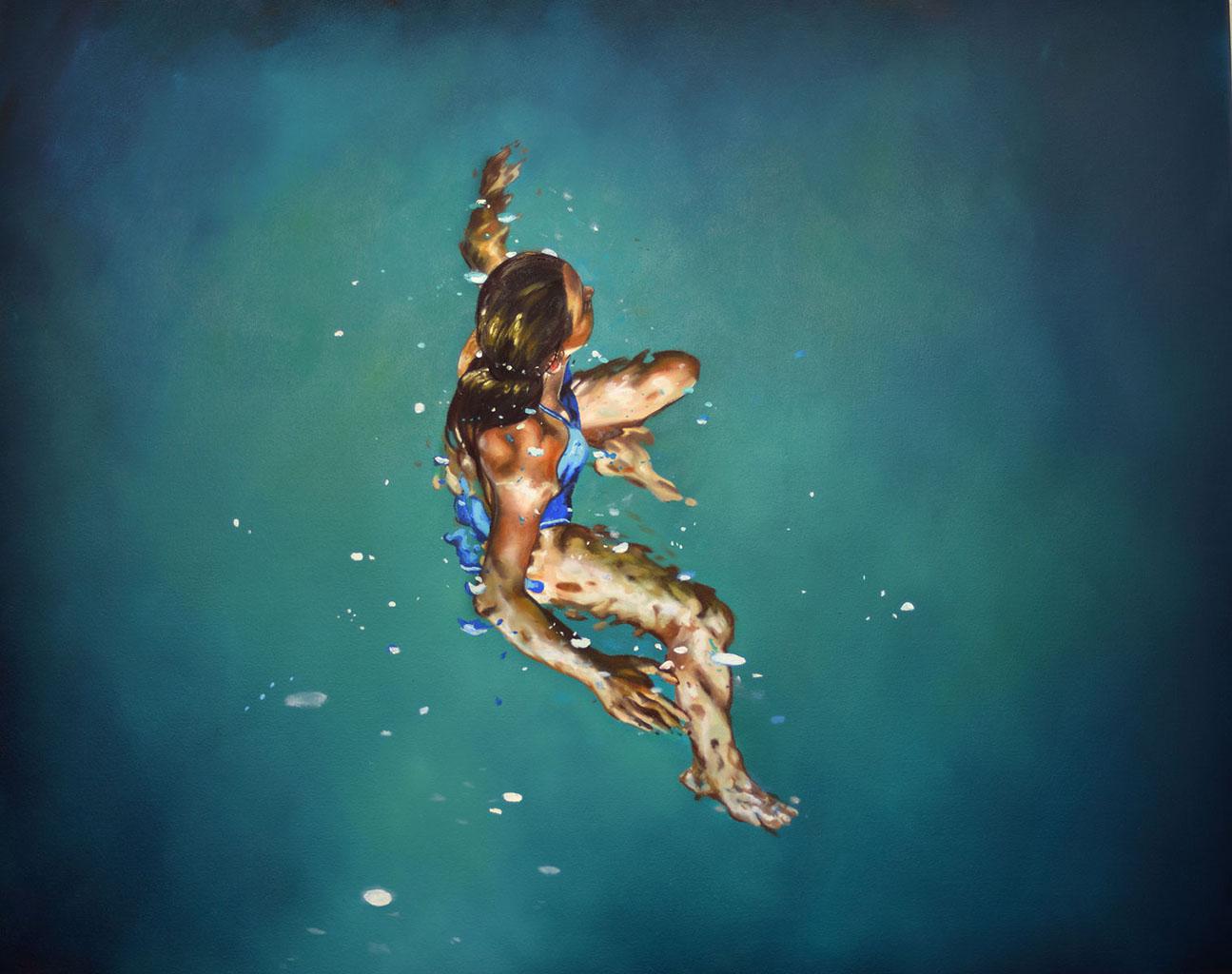 Эрик Зенер (Eric Zener), Treading Water (1) (Water)