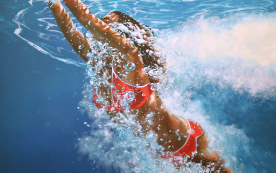 Эрик Зенер (Eric Zener), Surfacing Back (Water)