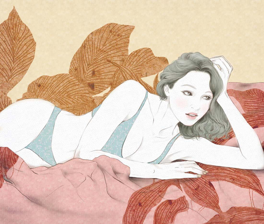 Zipcy, Ян Сэ Ын (Yang Se Eun), The Women's Bed (2)