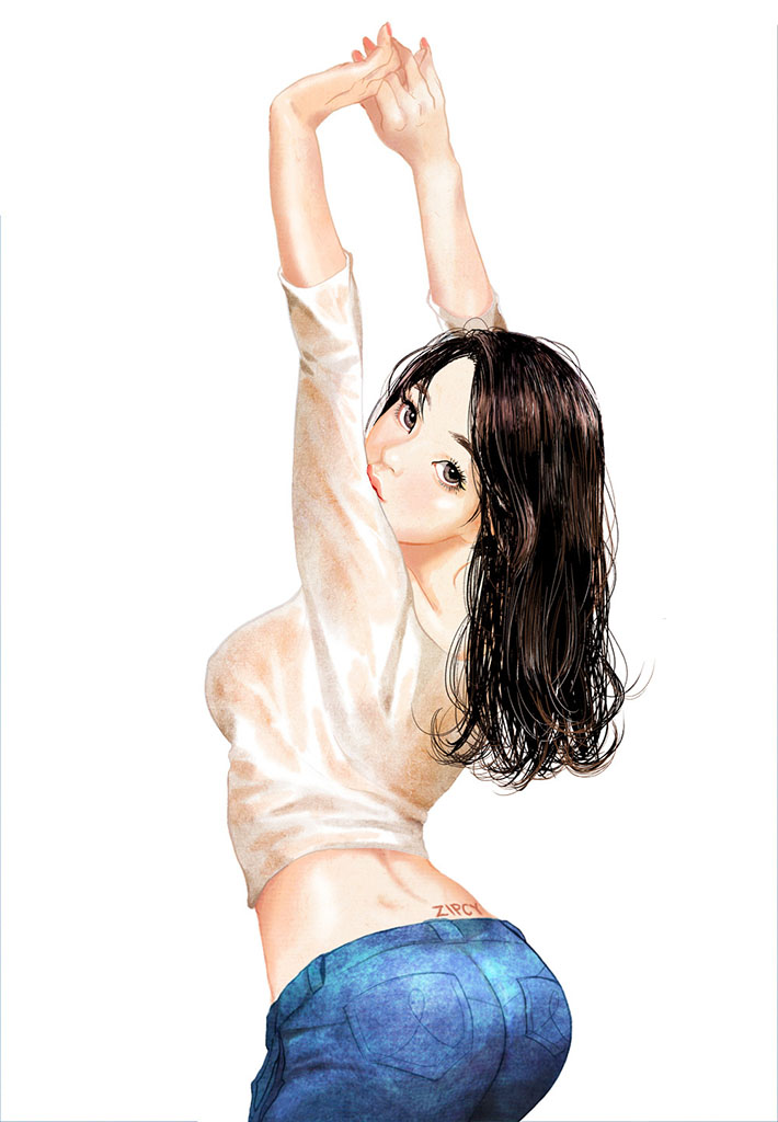 Zipcy, Ян Сэ Ын (Yang Se Eun), Erotic Picture — 35