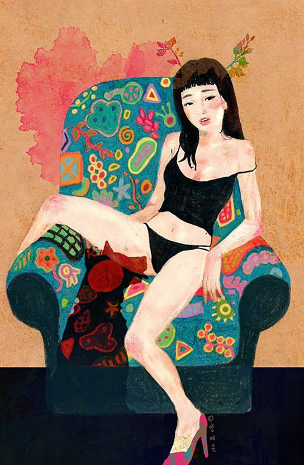 Zipcy, Ян Сэ Ын (Yang Se Eun), Erotic Picture — 38