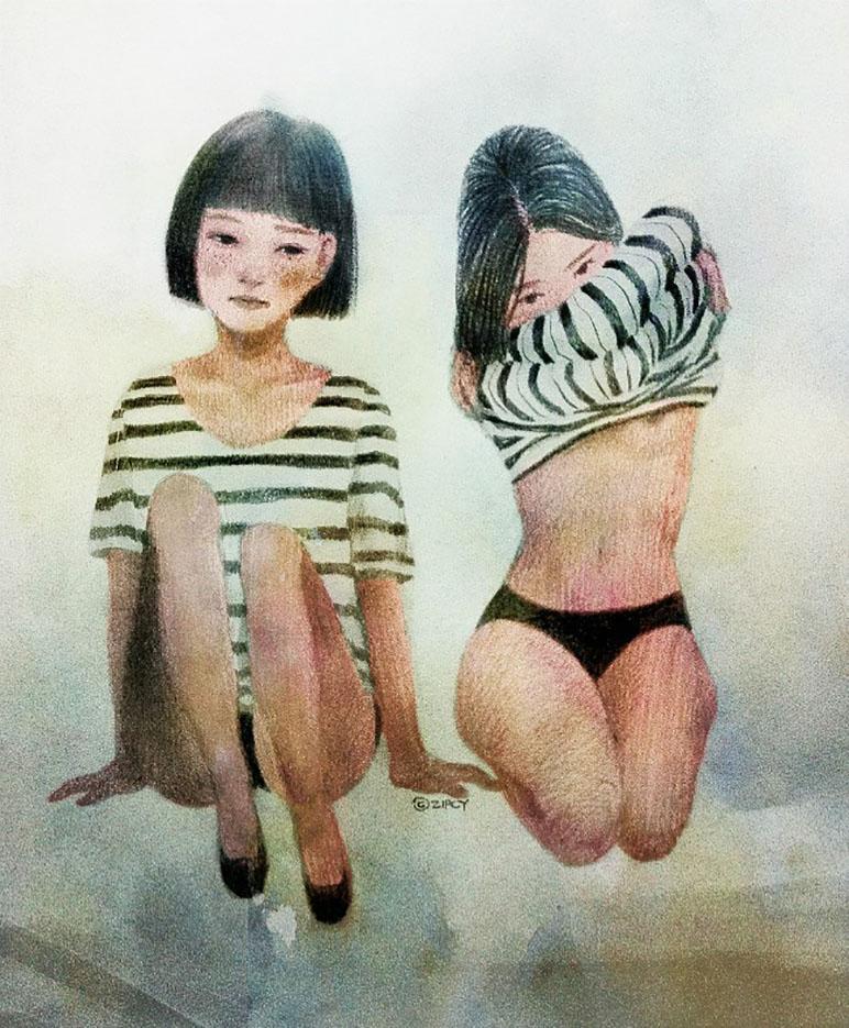 Zipcy, Ян Сэ Ын (Yang Se Eun), The Girls In The Striped Pajamas