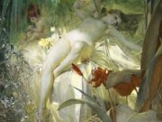 "Андерс Цорн (Anders Zorn), ""Love Nymph"""