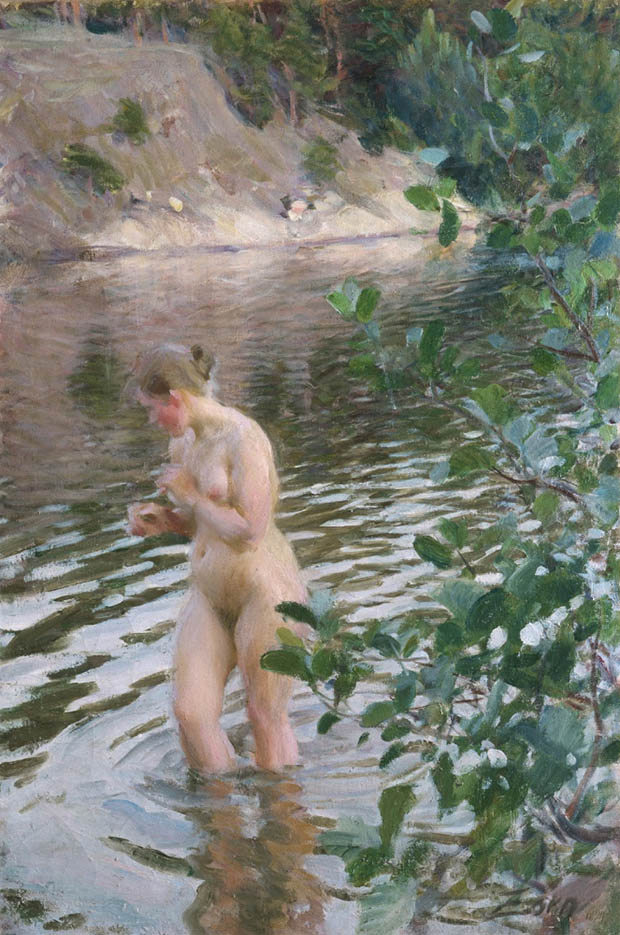 "Андерс Цорн (Anders Zorn), ""Sensitive to cold"""