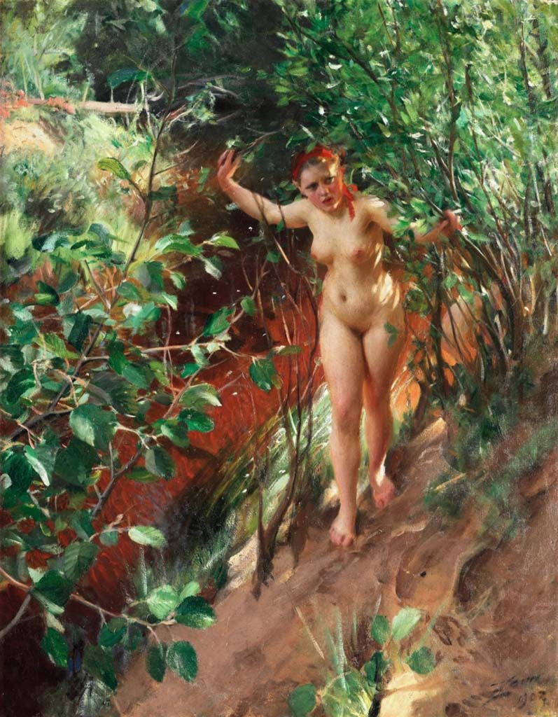 "Андерс Цорн (Anders Zorn), ""Red sand"""