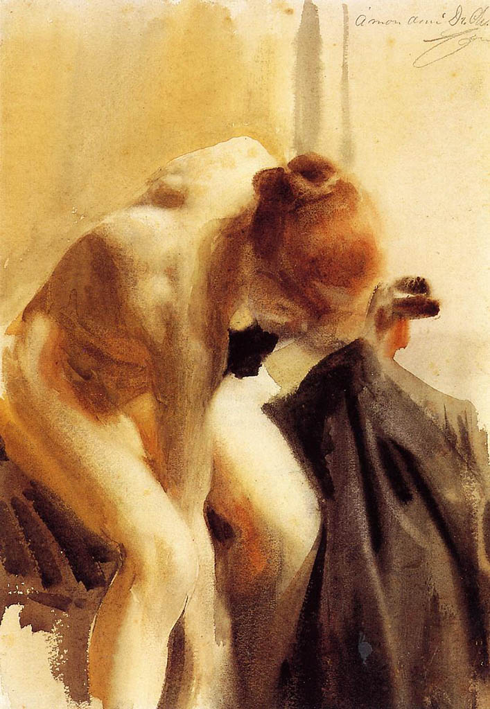 "Андерс Цорн (Anders Zorn), ""A Female Nude"""
