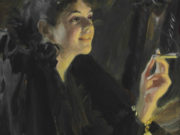 "Андерс Цорн (Anders Zorn), ""Девушка с сигаретой"""